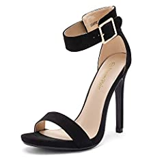 "FITTING TIPS: TRUE TO SIZE, WIDE WIDTH CUSTOMERS ORDER HALF SIZE UP. Heel height: 4.5"" (approx, may vary by size) Platform height: 0.25"" (Approx) TPR rubber out-sole Finished with a slightly padded faux leather insole"