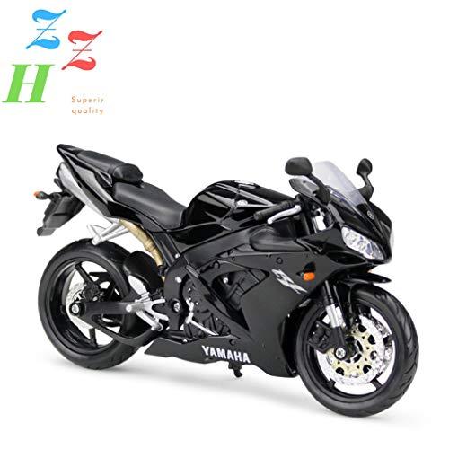 ZZH Yamaha R1 Edición Especial Ensamblar Kit De Moto Modelo 1:12 Escala,A