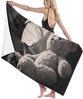 K-GHAdiy Toys Teddy Bear Bath Towel Beach SPA Shower Travel Towel 31