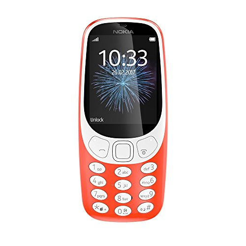 Nokia 3310 Retro Dual SIM Rot (Reconditionné)