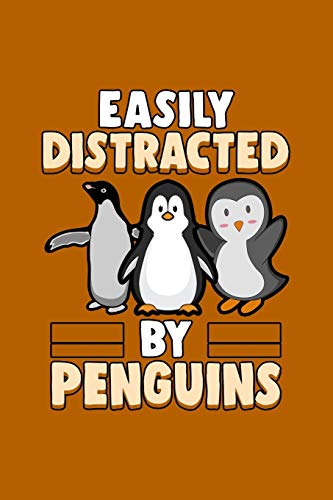 """『Easily distracted by Penguins: Daily Planner 