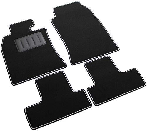 SPRINT03100 - Tappeti auto Moquette antiscivolo Colore nero
