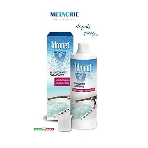 Igienizzante e Sanificante per vasca IDROMASSAGGIO Teuco, Albatros, ecc. - Idronet 500ml + bicchierino dosatore - Spedizione IMMEDIATA