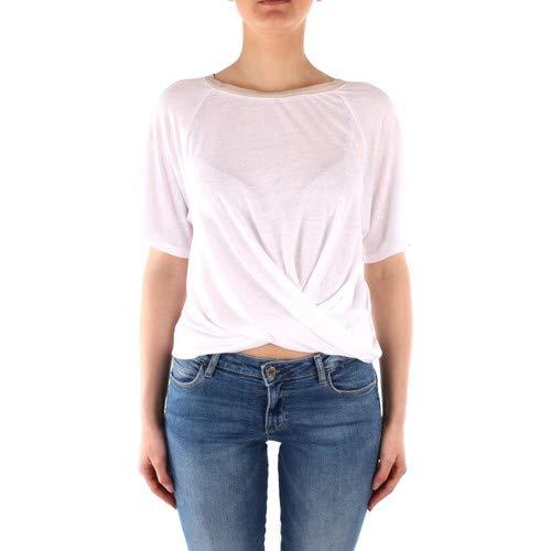 Guess dames top wit WoGP89 T-shirt blouse dames wit ronde hals