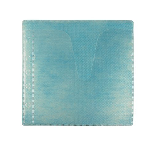 100 CD Double-sided Refill Sleeve Blue