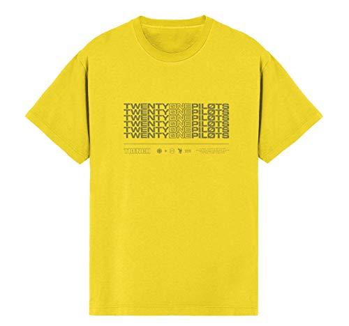 Twenty One Pilots - T-Shirt - Uomo Yellow X-Large