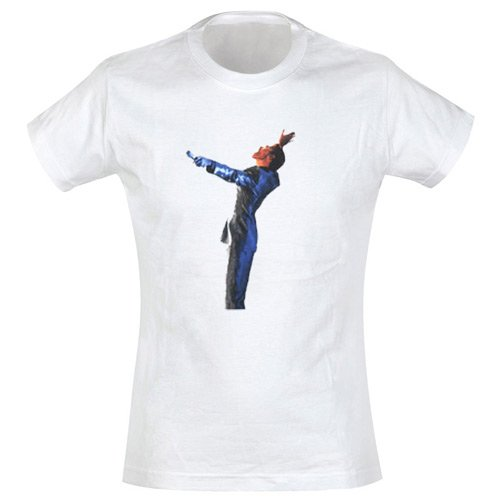 George Michael - Girl Shirt Shiny Suit (in L)