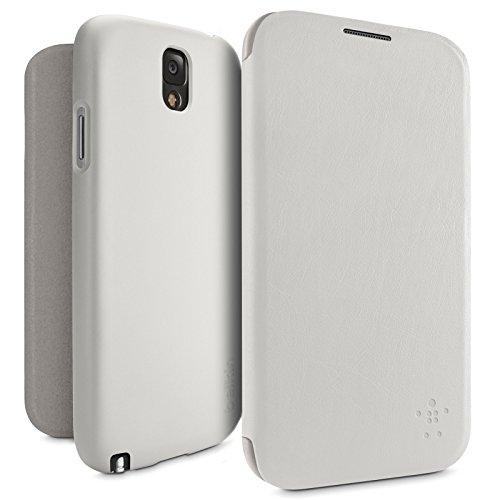 Belkin F8M688B1C02 Micra Folio Case (geeignet für Samsung Galaxy Note 3) weiß