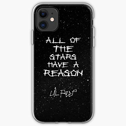 Lil Case Lyrics Starry Background Peep iPhone Star Shopping | Phone Case for All iPhone, iPhone 11, iPhone 11 Pro, iPhone XR, iPhone 7/8 /SE 2020