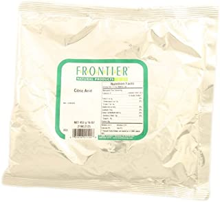 Frontier Natural Products Citric Acid -- 16 oz - 2 pc