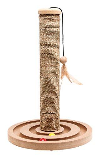 Karlie Kratzbaum Seegras mit Spielzeug H: 44 cm ø: 30 cm Brigitte