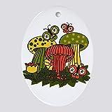Diuangfoong Ornamento ovalado de setas mágicas