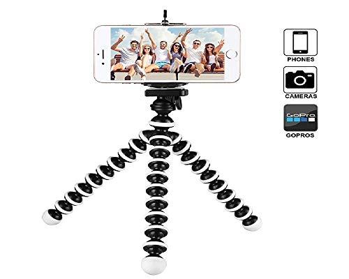 Gorillapod RX-22 flexibele statief, zwart, flexibel voor GoPro en mobiele telefoonopnames.