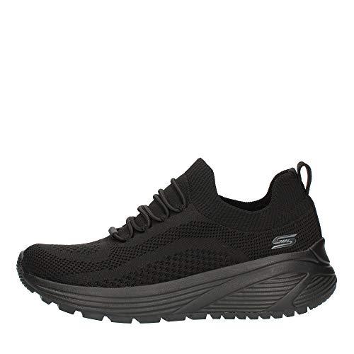 Skechers BOBS Sparrow 117027 BBK - Zapatillas deportivas para mujer, color negro