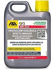 WET Eco, Protector Tonalizante con Efecto Mojado en base acuosa para Barro, Terracota y Piedra Natural muy absorbentes, 1L