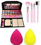 Best Makeup Kits - JAF 6155 Makeup kit and 5 Pieces Brush Review