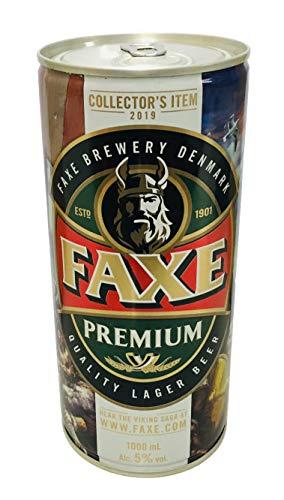 Faxe Birra Premium Chiara Ml.1000 Collector's ITEM 2019