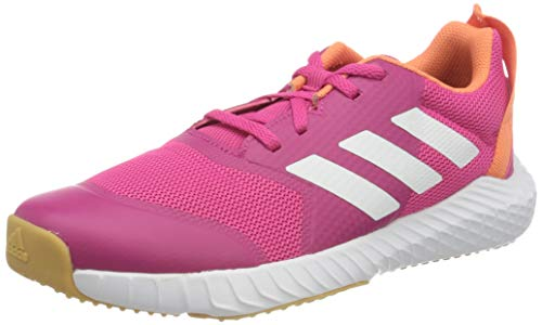 adidas Fortagym K Fitnessschuhe, Pink (Real Magenta/Cloud White/Semi Coral), 33 EU