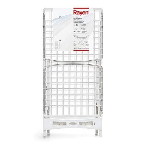 Rayen | Tendedero con Sistema de Bloqueo de Patas Antideslizante | Varillas XXL | Tendedero para Interior y Exterior | 20 m de Superficie de tendido | Tendedero de Resina