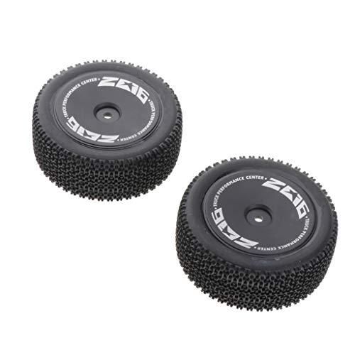 chiwanji 2.4G RC Buggy Neumáticos Traseros para WLTOYS 144001 1/14 RC Model Car Parts