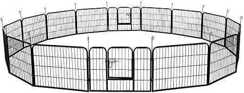 YAHEETECH Decorative Garden Fence 24in x 43ft Rustproof Folding Fencing Landscape Patio Flower product image