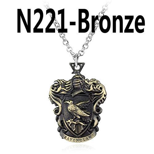 RQZQ halsketting aansteker halsketting hanger waaier souvenir geschenken brons