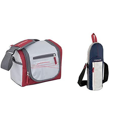 Campingaz - Urban Lunch Bag - Sac Déjeuner - 7 litres & Bottle Cooler Porte-Bouteille/Gourde Bleu Foncé 1,5 L