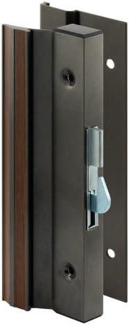 Surface Mount Aluminum Hook Style Prime-Line Products C 1000 Sliding Glass Door Handle Lock
