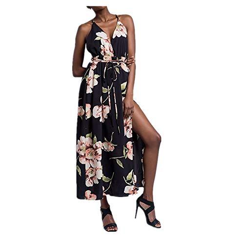 Bademode Fashian New sexy trägerlosen Halfter Damen Strandkleid Bikinis (Color : Apricot Color, Size : L)