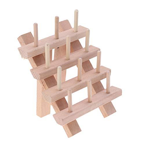 Healifty 12bobine di filo porta cucito ricamo quilting e supporto organizer