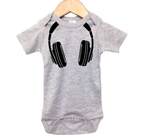 Ebenezer Fire DJ Baby Onesie/Headphones/Infant...