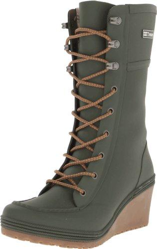 Hot Sale Tretorn Women's Plask Lace Rain Boot,Grapeleaf,38 EU/7 B US