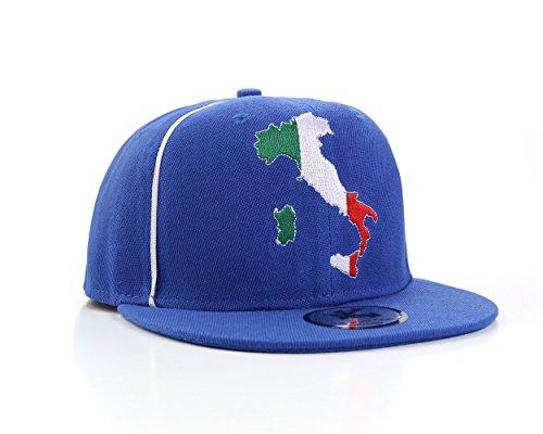 Underground Kulture Italien Blau Snapback Baseballkappe (Italy)