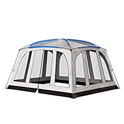 Screened-in Canopy Tent.