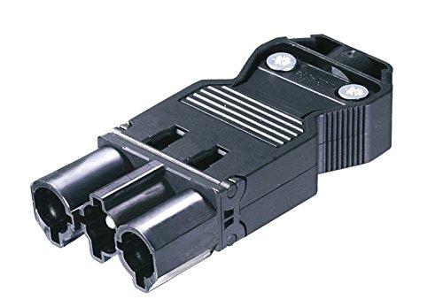 Wieland Zubehör/Ersatzteil, M-Stecker 230 V, weiblich, Länge 70 mm, Breite 28 mm, Höhe 12 mm 800105