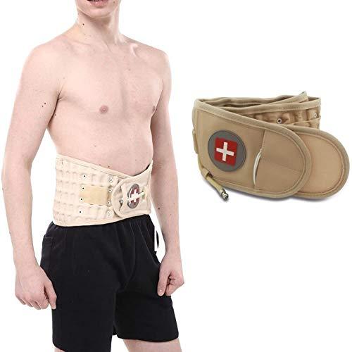 Hzlsy Cinturón Lumbar Inflable Uso Terapéutico para Dolor de Espalda y Alivio del Estrés Muscular Faja para Hombres Mujer