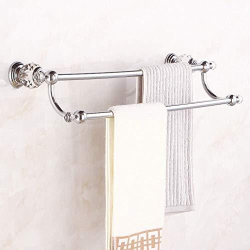 Ro6ph Toalleros repisa para baño Estante de Toalla Retro Baño Poste Poste...