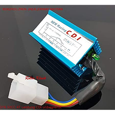 Tuning Control Unit Cdi Racing Open For 4t China Scooter Rex Baotian Benzhou Jack Fox Gy6 Auto