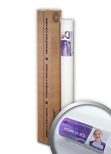 Vliesbehang overschilderbaar 120 g Profhome HomeVlies 399-124 glad onderbehang renovlies voor wand en plafond | 1 rol 25 m2