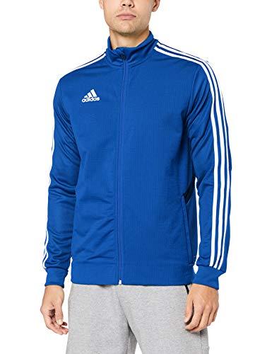 adidas Herren TIRO19 TR JKT Sport Jacket, Bold Blue/Dark Blue/White, M