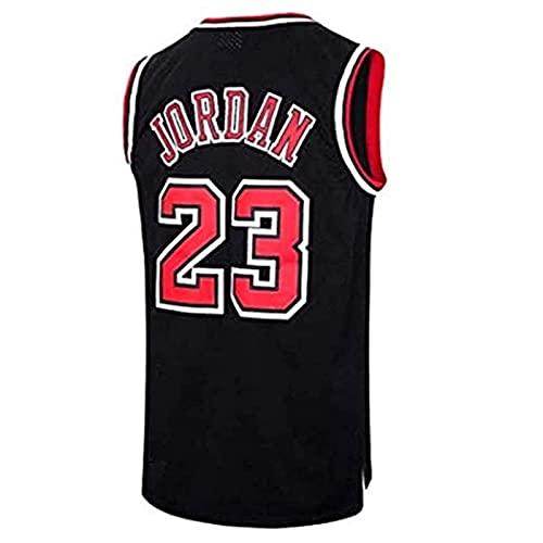 SHUWNSJ Ropa De Baloncesto Camiseta Retro para Hombre Michael Jordan # 23 Deportes De Baloncesto Camiseta De Chicago Camiseta Deportiva Sin Mangas (C,X-Large)