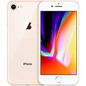 Apple iPhone 8, 64GB, Gold – For AT&T (Renewed)