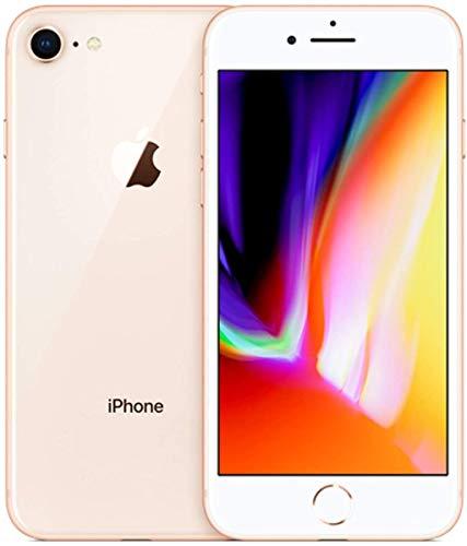 Apple iPhone 8, US Version, 64GB, Gold - Unlocked (Renewed)