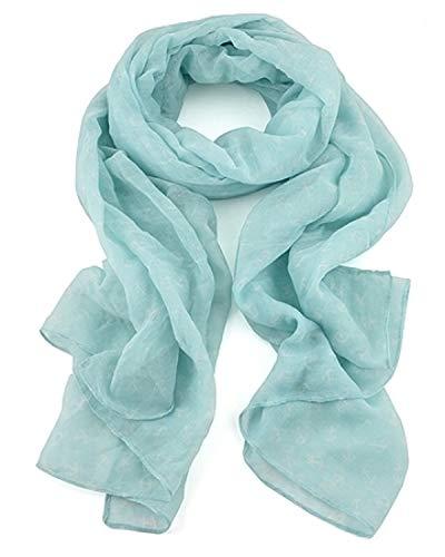 Lizas Schal/Halstuch Polyester blau 71743
