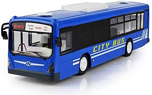 M-zen Juguete de autobús Escolar Remoto con Control Remoto, Juguetes eléctricos de 2,4 GHz para niños, autobús de 6 Canales RC, autobús Urbano expreso, autobús Escolar con Sonidos realistas, Puertas