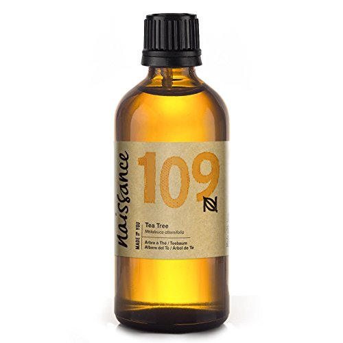 Naissance Teebaumöl (Nr. 109) 100ml 100% naturreines ätherisches Öl