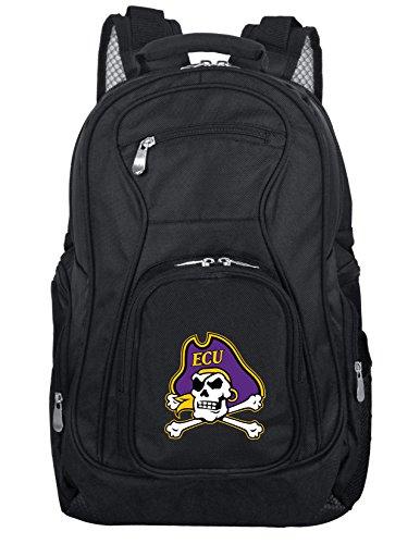 Denco NCAA East Carolina Pirates Voyager Laptop Backpack, 19-inches, Black