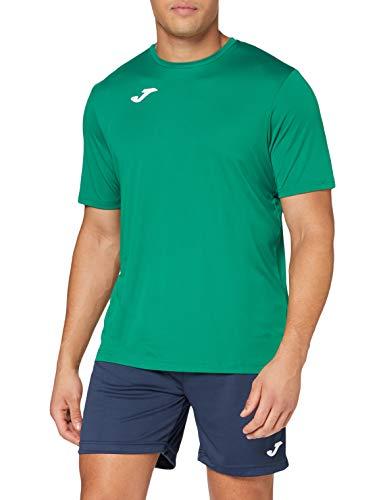 Joma Combi Camiseta Manga Corta, Hombre, Verde, L