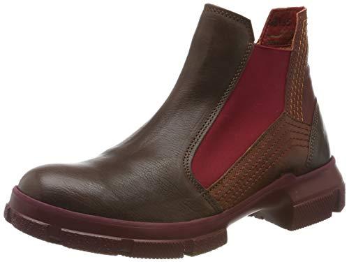 Think! Damen IAZ_585135 Chelsea Boots, Braun (Mocca/Kombi 46), 42 EU