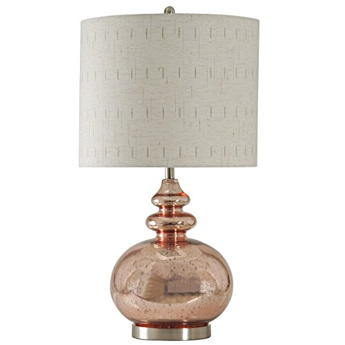 Collective Design 720354120543 Table Lamp, Gemvara Rose Gold